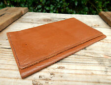 Vintage Genuine Real Leather Mens Bifold Wallet - Made in England - #3