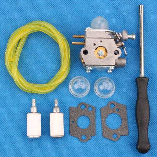 Carburateur Filtre à carburant pour Troy-Bilt TB80EC TB32EC TB22EC TB2040XP Tondeuse