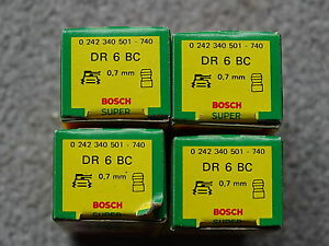 4-x-Bosch-CANDELE-dr6bc-NUOVO