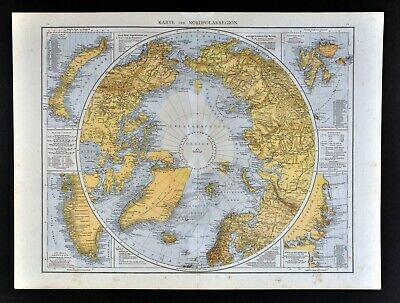 1881 Andrees World Map North Pole Arctic Ocean Russia Canada Alaska on austria map of the world, kenya map of the world, greenland map of the world, colombia map of the world, cape verde islands map of the world, panama map of the world, persian gulf map of the world, united arab emirates map of the world, bahamas map of the world, easter island map of the world, equatorial map of the world, lappland map of the world, reykjavik map of the world, ukraine map of the world, alaska map of the world, guatemala map of the world, california map of the world, scotland map of the world, central african republic map of the world, amazon basin map of the world,