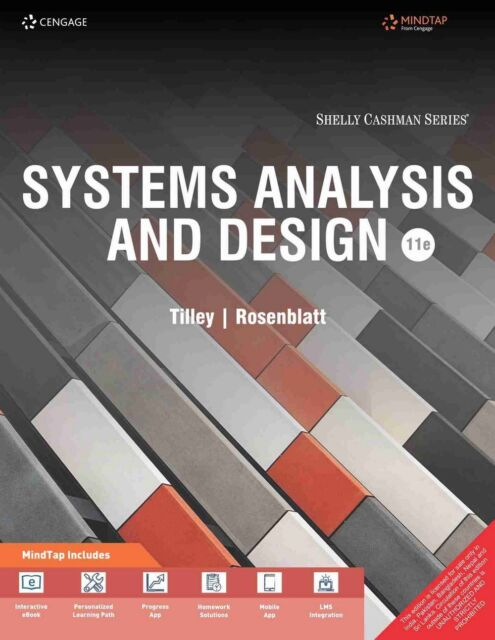 Mindtap Course List Ser Systems Analysis And Design By Scott Tilley And Harry J Rosenblatt 2016 Hardcover Revised Edition For Sale Online Ebay