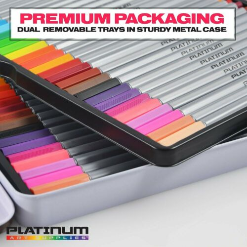 #1 Best Seller Fineliner Color Pen Set HUGE SET OF 60 COLORING ART MARKERS