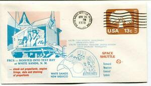 1978 Frcs Hoisted Test Bay White Sands Missile Range New Mexico Space Shuttle