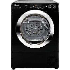 Candy GVS H9A2DCEB Free Standing 9kg Heat Pump Tumble Dryer - Black.