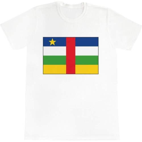 TA023130 Women/'s Cotton T-Shirts /'Central African Republic/' Men/'s