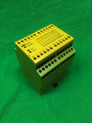 PILZ PZE9 SAFETY RELAY 24VDC 3W, AC15- 230V- 5A- DC13, AC1- 240V- 8A/ 400V- 5A