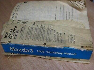 Mazda 3 2005 Dealer Workshop and Wiring Diagram Manuals   eBay