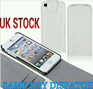 Pu Case Protective Cover Skin Shell for Apple iPhone 5  5s Card Wallet White UK - West Midlands, United Kingdom - Pu Case Protective Cover Skin Shell for Apple iPhone 5  5s Card Wallet White UK - West Midlands, United Kingdom