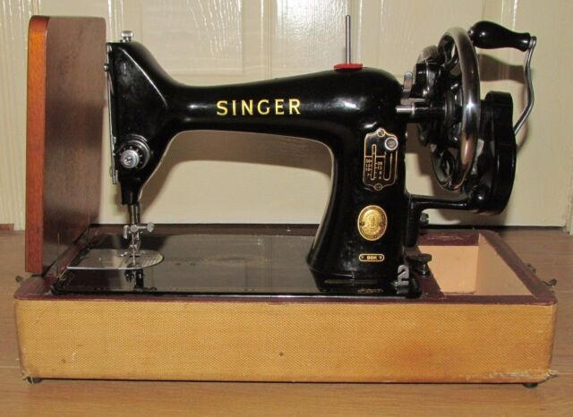 Vintage Manual SINGER Sewing Machine 40k EBay Classy Antique Singer Sewing Machine Manual