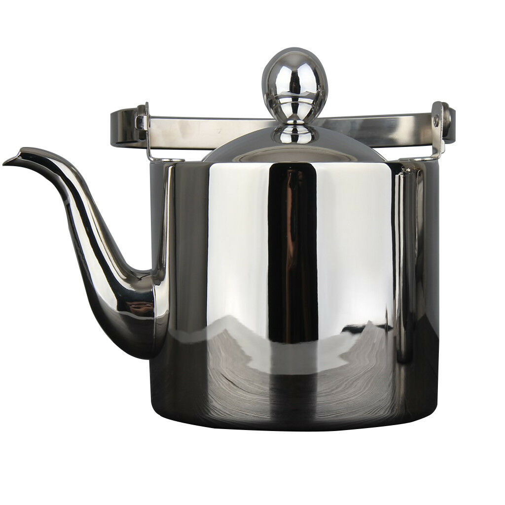 Tea Kettle Stovetop Teapot Induction Stove Top Boiling Stainless Steel 2.5L