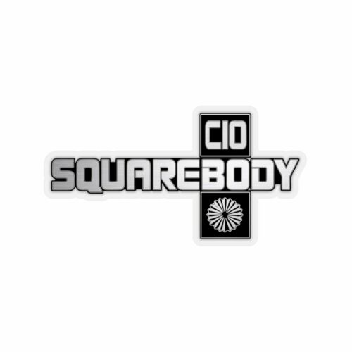 Squarebody Fender Emblem Sticker 73-87 C10