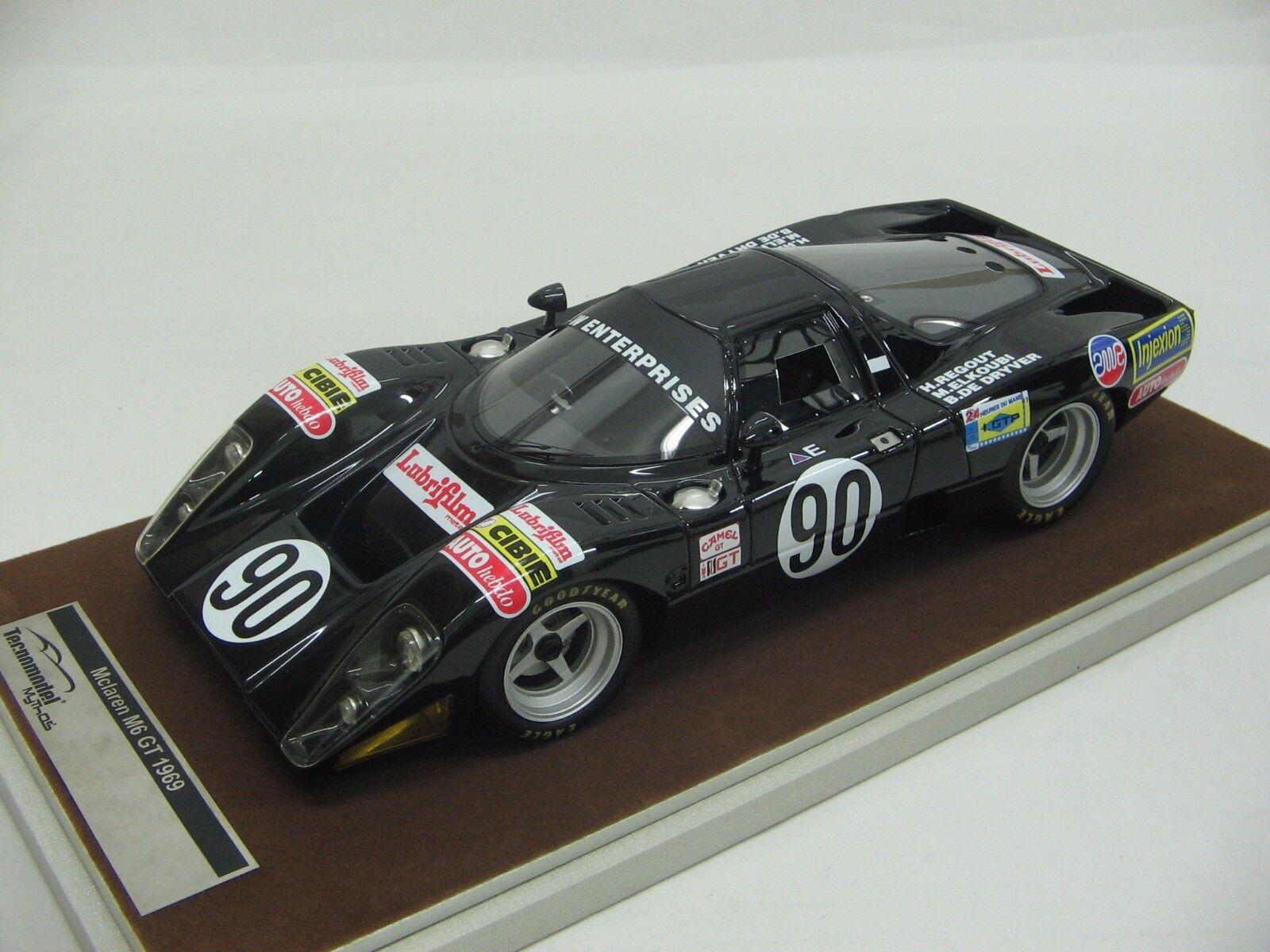 1 18 scale Tecnomodel McLaren M6 GT Le Mans 24 1981 - TM18-40D