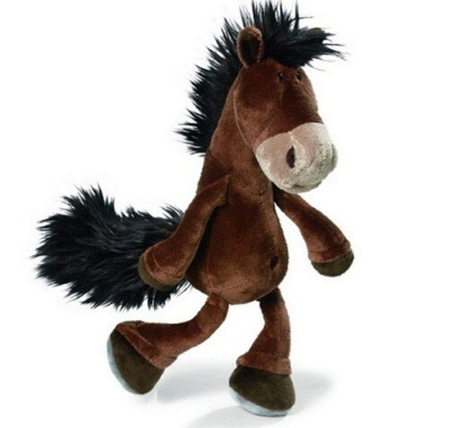 NEW PLUSH SOFT TOY NICI Horse Club - Dangling Brown Plush Horse - 50cm