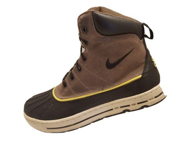 2011 Nike Acg Woodside Duck Boots Men's Size 8 386469-005 Matte RARE VERY  NICE!