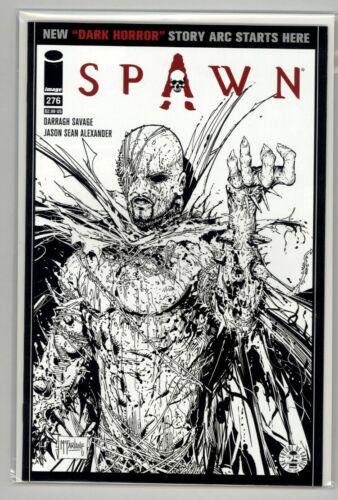 Spawn #276  Black and White Sketch Variant Image Comics  McFarlane 1st Print