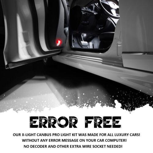 9pcs White Premium Led Interior Light Package For Jeep Wrangler JK 2-Door 2007+