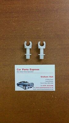 FORD SIERRA SAPPHIRE /& ESCORT RS COSWORTH HANDBRAKE CABLE SECURE CIRCLIP NOS