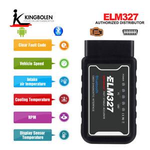 ELM327 WiFi Bluetooth V1.5 OBD2 OBDII Car Diagnostic Scanner Tool Code Reader