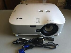 nec np3151w lcd portable projector works great new factory lamp rh ebay com Old NEC Projectors NEC Projectors Troubleshooting