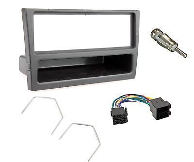 Vauxhall Vivaro Black Car Stereo Radio Fascia Facia Adaptor Wiring Fitting KIT