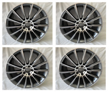 4pc 19 Multispoke Amg Style Rims Wheels Fits Mercedes Benz S450 S500 S550 S63