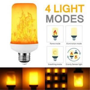 LED-Flame-Effect-Fire-Light-Bulb-Flickering-Flame-Lamp-Simulated-Decor-E27-9W-JK