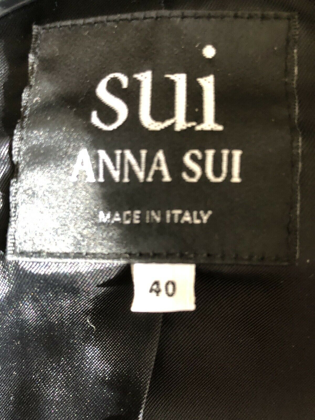 Pre Owned SUI-Anna Sui Vintage Ladies Jacket,Size… - image 6