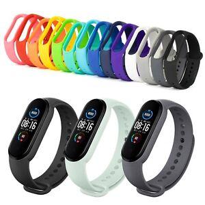 Ersatz Armband für Xiaomi Mi Band 5 & 6 Fitness Sport Tracker Smartwatch Silikon