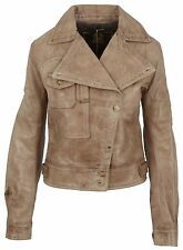 BELSTAFF Damen Leder Jacke Leather Jacket HOWARD AVIATOR BLOUSON LADY ANTIQUE