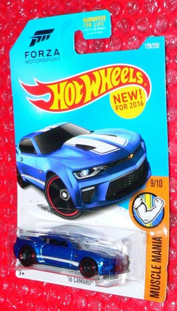 2016 Hot Wheels Muscle Mania  #129 '16 CAMARO SS   DHP14-D9B0L  FORZA