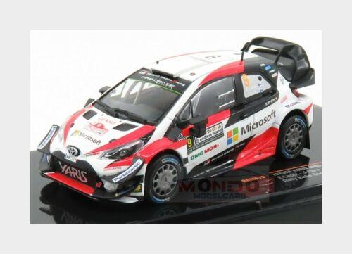 Toyota Yaris Wrc #9 Rally Italy 2018 E.Lappi J.Ferm IXO 1:43 RAM678