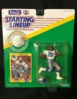 1991 Starting Lineup Barry Sanders DETRIOT Lions NFL Figure Card and Coin