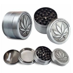 Leaf-3-4-Layers-Zinc-Alloy-Tobacco-Crusher-Hand-Muller-Smoke-Herb-Grinder-Soft