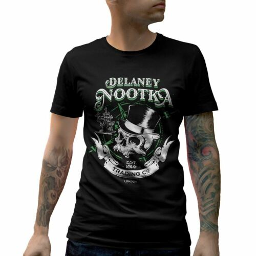 Delaney Nootka T-Shirt Retro Trading Co Sound Hardy Shipping Island Company D183