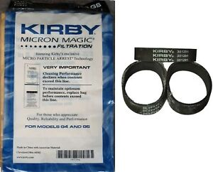 New-9-Micron-Vacuum-Cleaner-Bags-For-Kirby-G4-G5-With-Belts-Generation-4-5-Gsix