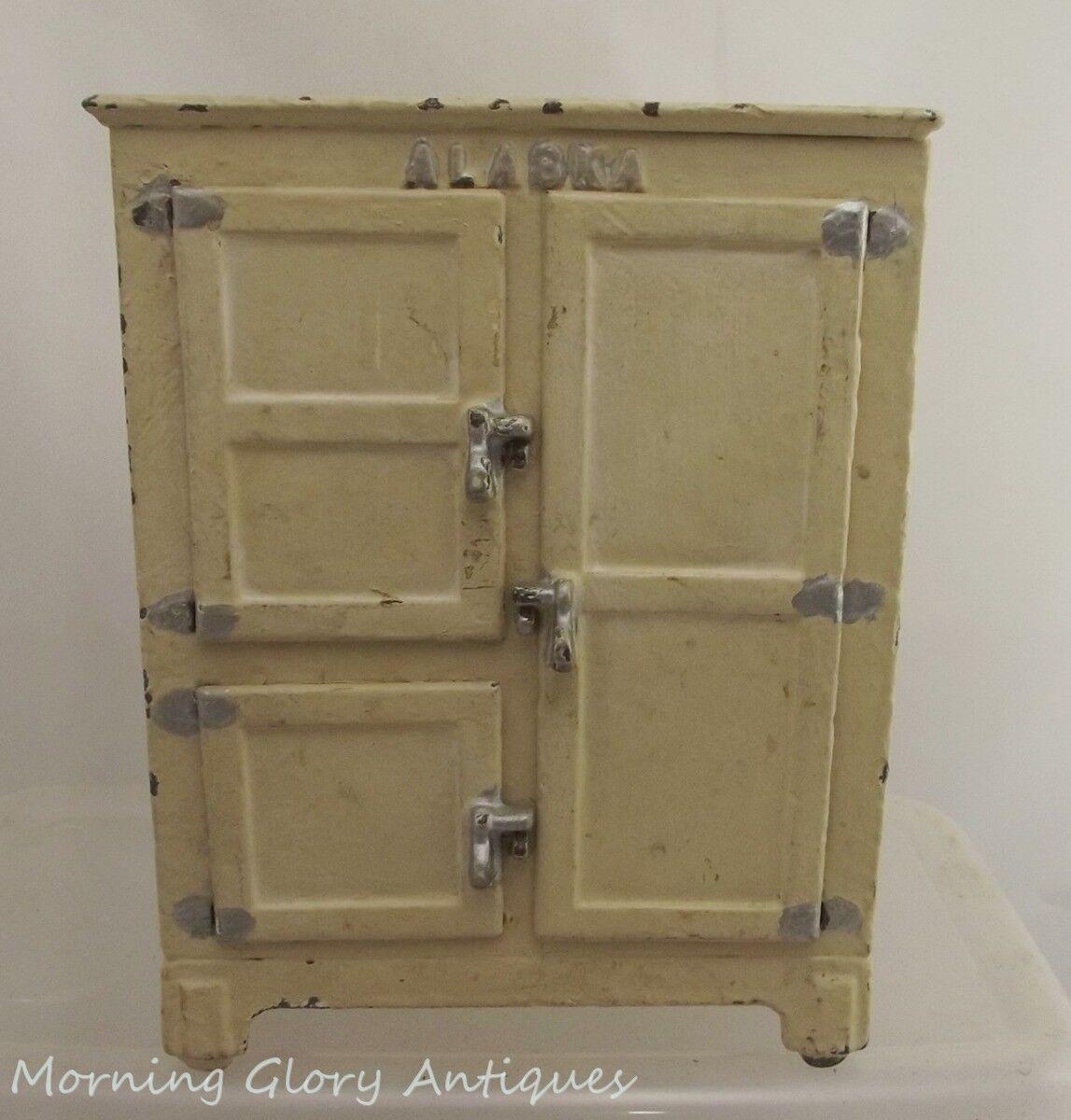 Arcade 7-1 2  alto 4 puertas caja de hielo refrigerador de hierro fundido de Alaska