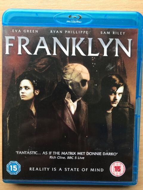 Eva Green Ryan Phillippe FRANKLYN 2008 British Dystopian Sci-Fi Rare UK Blu-ray