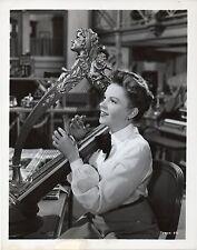 IN THE GOOD OLD SUMMERTIME 1949 Judy Garland HARP 10x8 STILL #89