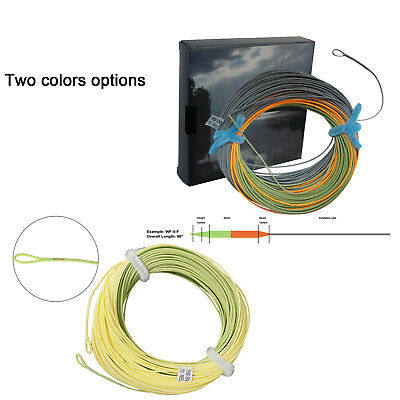 Aventik Fly Fishing Line Weight Forward Floating Fly Line With Exposed Loop Line ID