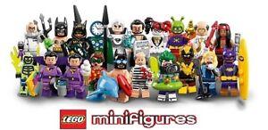Lego-Minifigure-Figurine-71020-Series-Batman-Movie-Serie-2-Choose-Minifig-NEW