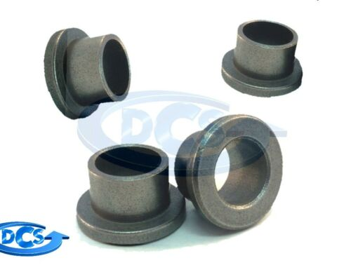 "High Load Flanged Sleeve Bearing-SAE 863 Bronze-3//8/"" Dia-1//2/"" OD-1//2/""Length 1"
