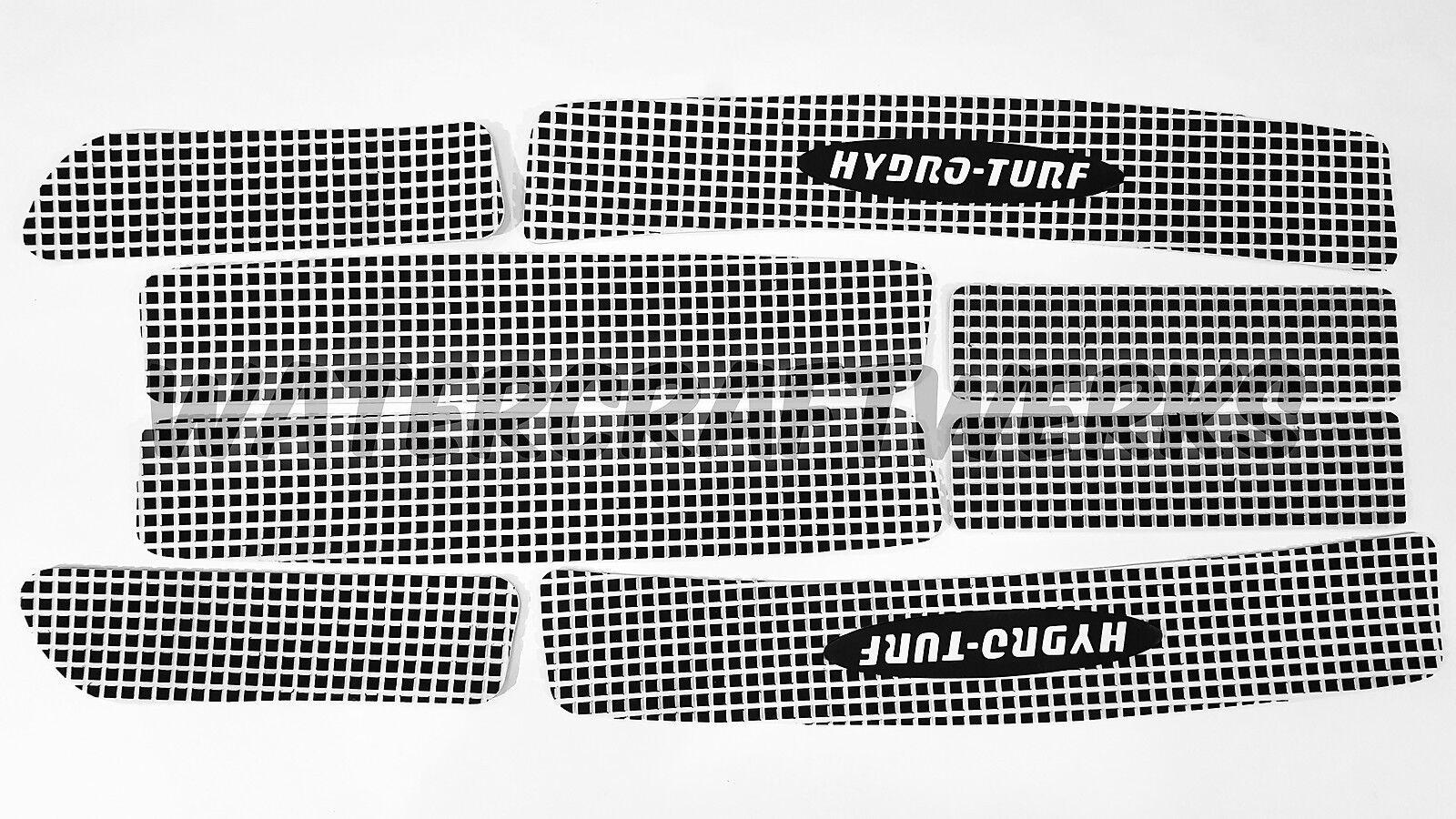 Hydro-Turf Vorrätig - Kawasaki Ultra 130 150 - 2Tone Schwarz/Weiß Abschalten
