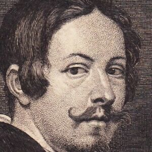 Portrait-XVIIIe-Gerard-Seghers-Peintre-Peinture-Baroque-Flamande