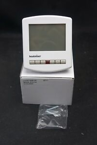 Heatmiser Slimline 230V Programmable Thermostat White (A790)