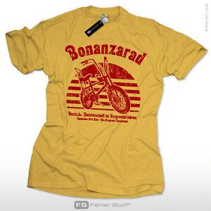 Bonanzarad-T-Shirt-S-XXL-Retro-Vintage-Fahrrad-BMX-Kult-Bonanza-Rad-Skater-Surf