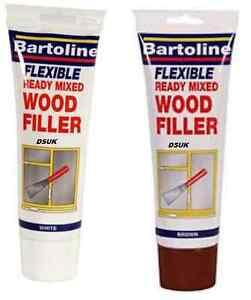 NEW-BARTOLINE-READY-MIXED-FLEXIBLE-QUICK-DRY-WOOD-FILLER-SEALANT-TUBE