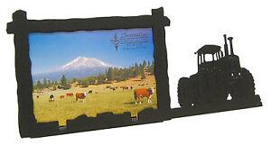 "Farm Scene Barn 3/""x5/"" V Tractor Picture Frame 3.5/""x5/"""