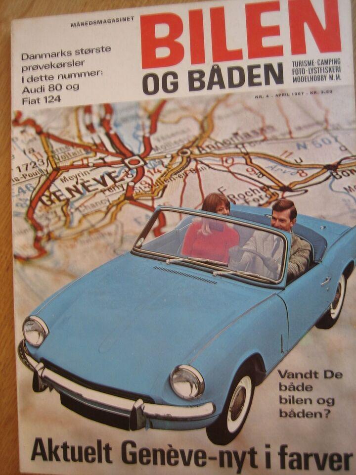 Bilen og båden 1967, Rogers Søgaard, Blad