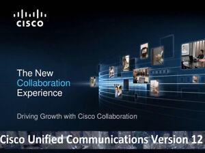 Details about Cisco Collaboration Voice Lab CCNA CCNP CCIE VMware images  CUCM CUC CER UCCX v12