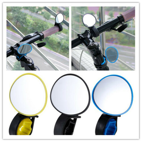 Rear View Bike Outdoor Handlebar Mirror Safety Bicycle Accessories